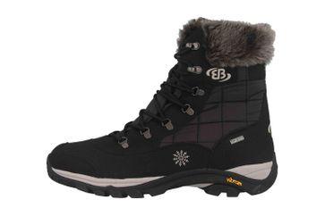 Brütting Himalaya Stiefel in Übergrößen Schwarz 711004 große Unisexschuhe – Bild 1