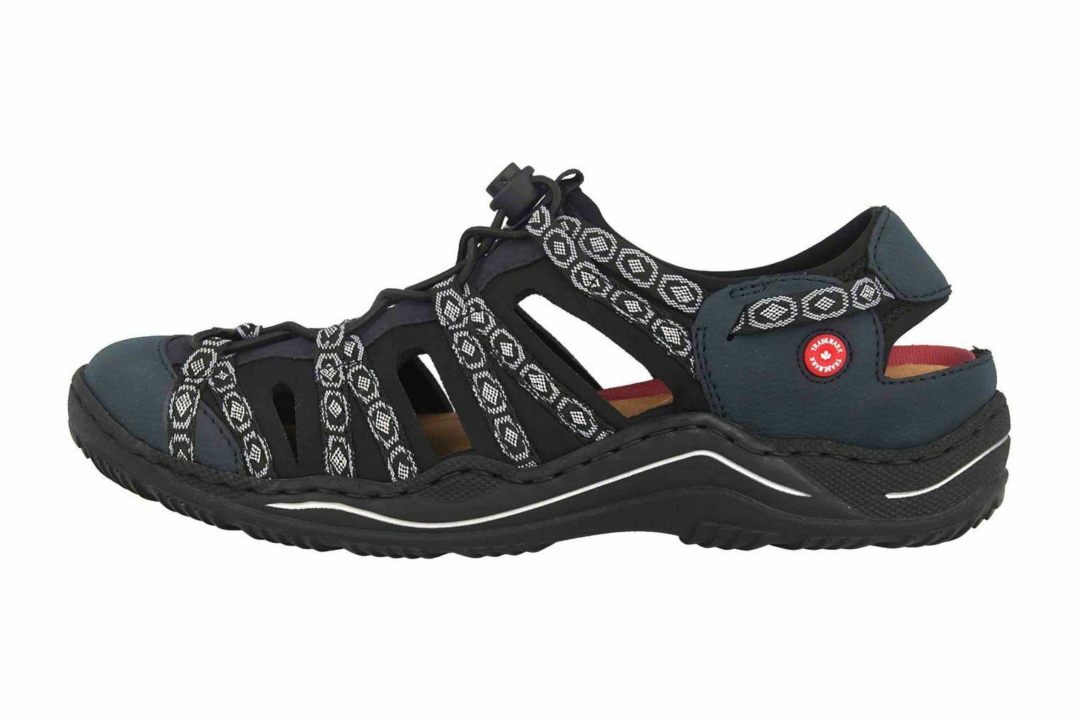 Rieker Sneaker in Übergrößen Blau L0577-15 große Damenschuhe – Bild 1