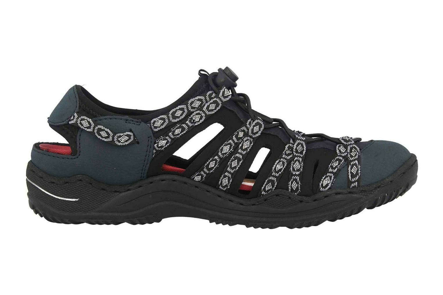 Rieker Sneaker in Übergrößen Blau L0577-15 große Damenschuhe – Bild 4