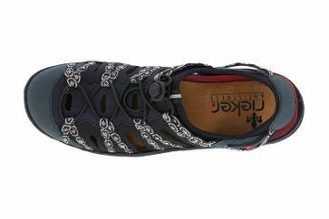 Rieker Sneaker in Übergrößen Blau L0577-15 große Damenschuhe – Bild 7