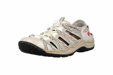 Rieker Sneaker in Übergrößen Grau L0577-80 große Damenschuhe – Bild 6