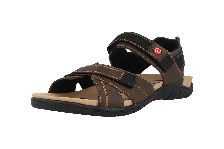 Rieker Sandalen in Übergrößen Braun 26851-25 große Herrenschuhe – Bild 6