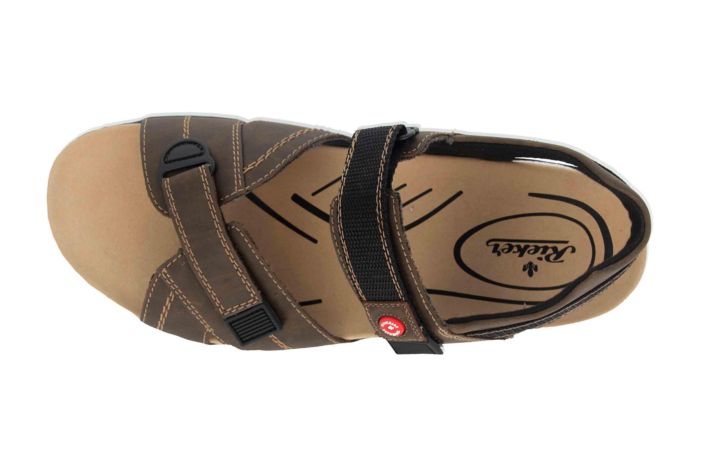 Rieker Sandalen in Übergrößen Braun 26851-25 große Herrenschuhe – Bild 7