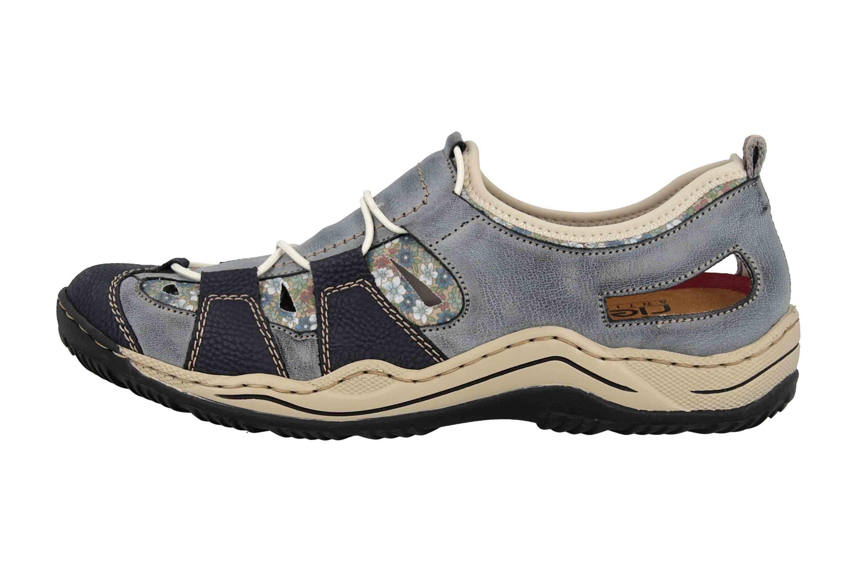 Rieker Sneaker in Übergrößen Blau L0561-14 große Damenschuhe – Bild 1