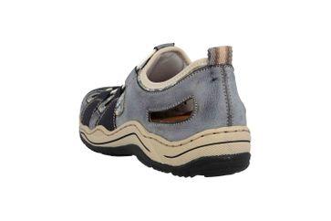 Rieker Sneaker in Übergrößen Blau L0561-14 große Damenschuhe – Bild 2
