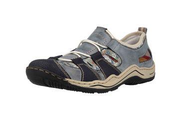 Rieker Sneaker in Übergrößen Blau L0561-14 große Damenschuhe – Bild 6