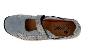 Rieker Sneaker in Übergrößen Blau L0578-12 große Damenschuhe – Bild 7