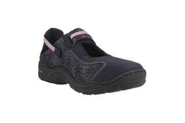Rieker Sneaker in Übergrößen Blau L0557-14 große Damenschuhe – Bild 5