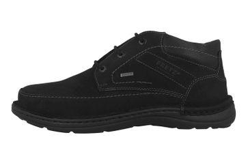 Fretz Men Livingston Stiefel in Übergrößen Schwarz 7812.8247-51 große Herrenschuhe – Bild 1