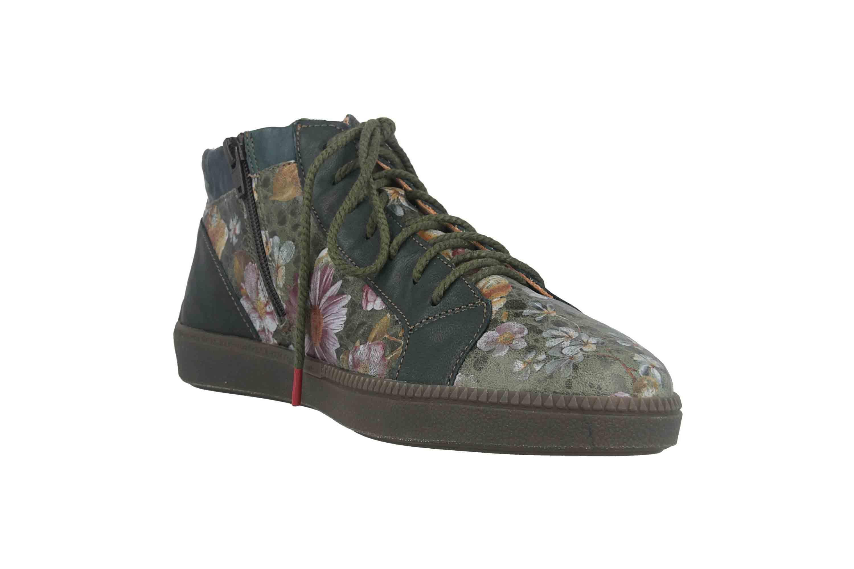 Think! Sneaker in Übergrößen Grün 5-85047-63 große Damenschuhe – Bild 5