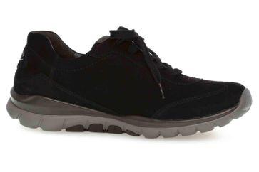 Gabor rollingsoft Sneaker in Übergrößen Schwarz 06.965.47 große Damenschuhe – Bild 4