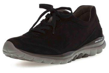 Gabor rollingsoft Sneaker in Übergrößen Schwarz 06.965.47 große Damenschuhe – Bild 6