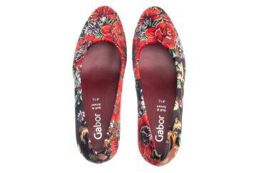 Gabor Fashion Pumps in Übergrößen Schwarz 31.270.59 große Damenschuhe – Bild 7