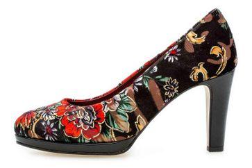 Gabor Fashion Pumps in Übergrößen Schwarz 31.270.59 große Damenschuhe – Bild 1