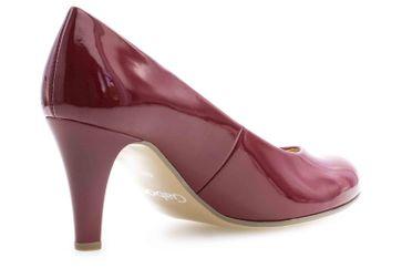 Gabor Fashion Pumps in Übergrößen Rot 31.310.75 große Damenschuhe – Bild 3