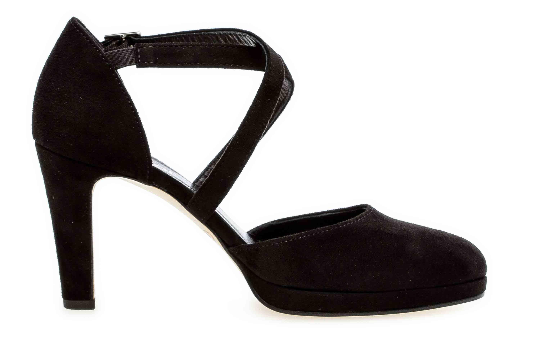 Gabor Fashion Pumps in Übergrößen Schwarz 31.370.47 große Damenschuhe – Bild 4