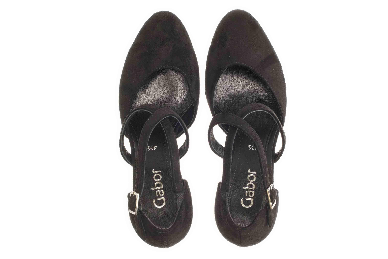 Gabor Fashion Pumps in Übergrößen Schwarz 31.370.47 große Damenschuhe – Bild 7