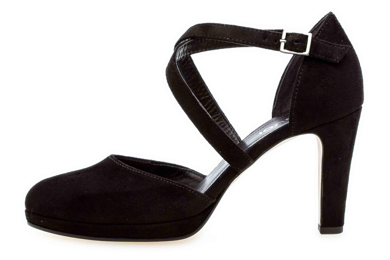 Gabor Fashion Pumps in Übergrößen Schwarz 31.370.47 große Damenschuhe – Bild 1