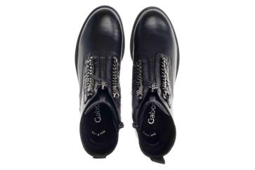 Gabor Fashion Stiefeletten in Übergrößen Schwarz 31.795.27 große Damenschuhe – Bild 7
