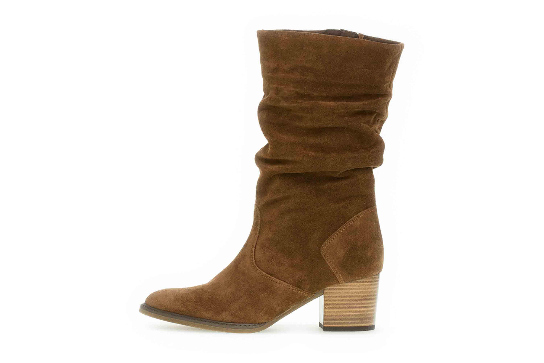 finest selection 5cff6 3e9bf Gabor Milano Stiefel in Übergrößen Braun 32.894.41 große Damenschuhe