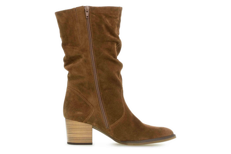 Gabor Milano Stiefel in Übergrößen Braun 32.894.41 große Damenschuhe