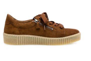 Gabor Jollys Sneaker in Übergrößen Braun 33.334.12 große Damenschuhe – Bild 4