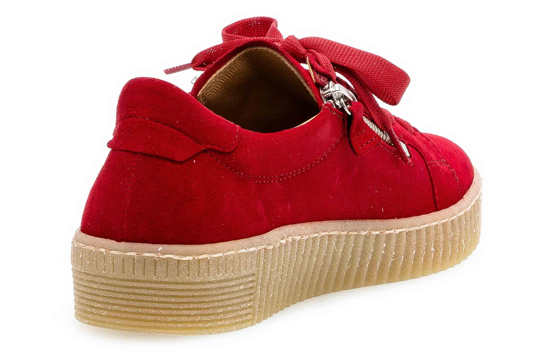Gabor Jollys Sneaker in Übergrößen Rot 33.334.15 große Damenschuhe – Bild 3