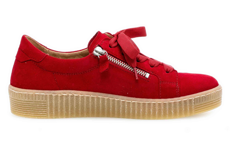 Gabor Jollys Sneaker in Übergrößen Rot 33.334.15 große Damenschuhe – Bild 4