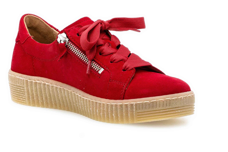Gabor Jollys Sneaker in Übergrößen Rot 33.334.15 große Damenschuhe – Bild 5