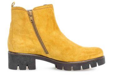 Gabor Casual Stiefeletten in Übergrößen Gelb 34.710.30 große Damenschuhe – Bild 4