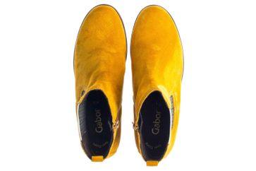 Gabor Casual Stiefeletten in Übergrößen Gelb 34.710.30 große Damenschuhe – Bild 7