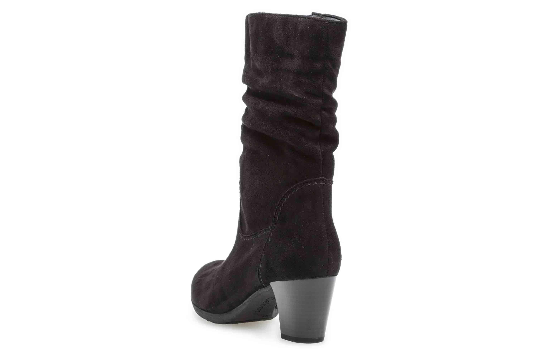 Gabor Basic Stiefel in Übergrößen Schwarz 35.684.47 große Damenschuhe