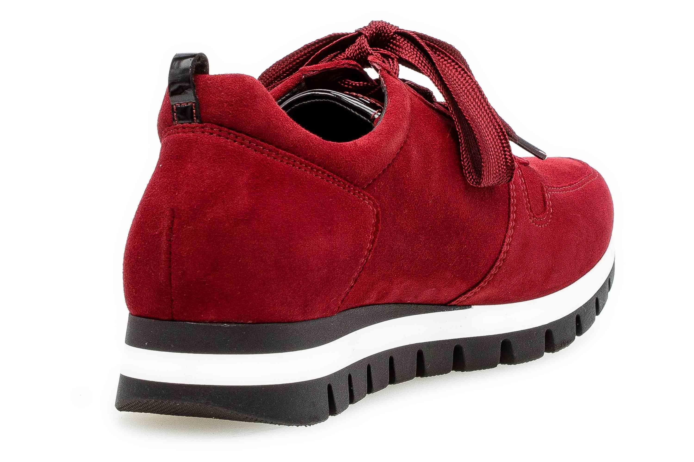Gabor Comfort Basic Sneaker in Übergrößen Rot 36.435.38 große Damenschuhe