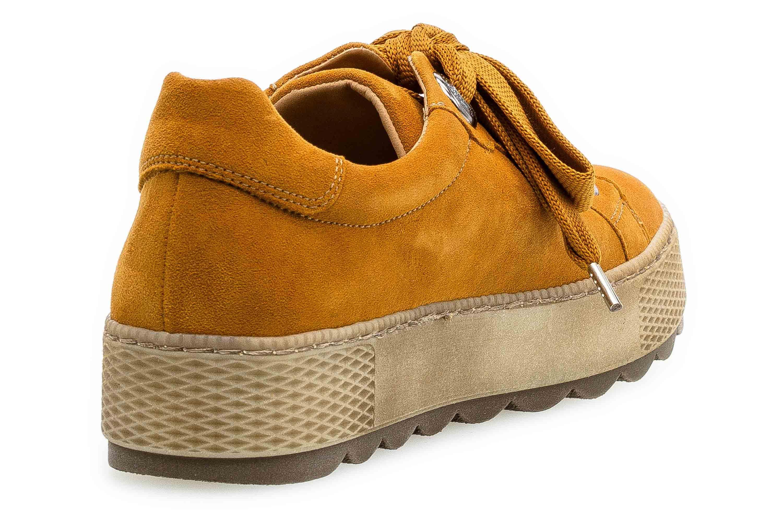 Gabor Florenz Sneaker in Übergrößen Curry 36.535.30 große Damenschuhe – Bild 3