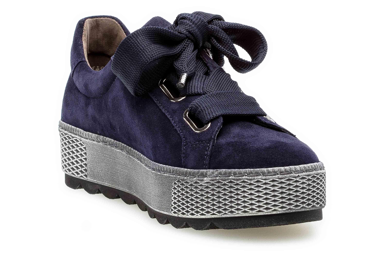 Gabor Florenz Sneaker in Übergrößen Blau 36.535.36 große Damenschuhe – Bild 5