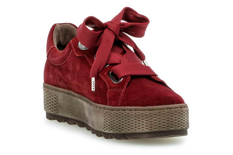 Gabor Florenz Sneaker in Übergrößen Rot 36.535.48 große Damenschuhe – Bild 5