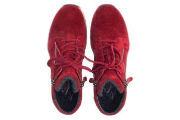 Gabor rollingsoft Stiefeletten in Übergrößen Rot 36.958.38 große Damenschuhe – Bild 7