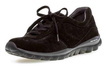 Gabor rollingsoft Sneaker in Übergrößen Schwarz 36.960.47 große Damenschuhe – Bild 6