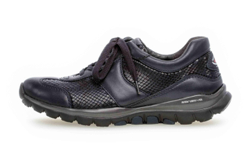Gabor rollingsoft Sneaker in Übergrößen Blau 36.960.56 große Damenschuhe – Bild 1