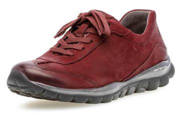 Gabor rollingsoft Sneaker in Übergrößen Rot 36.965.48 große Damenschuhe – Bild 6