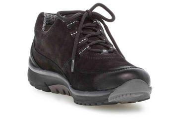 Gabor rollingsoft Sneaker in Übergrößen Schwarz 36.996.87 große Damenschuhe – Bild 5