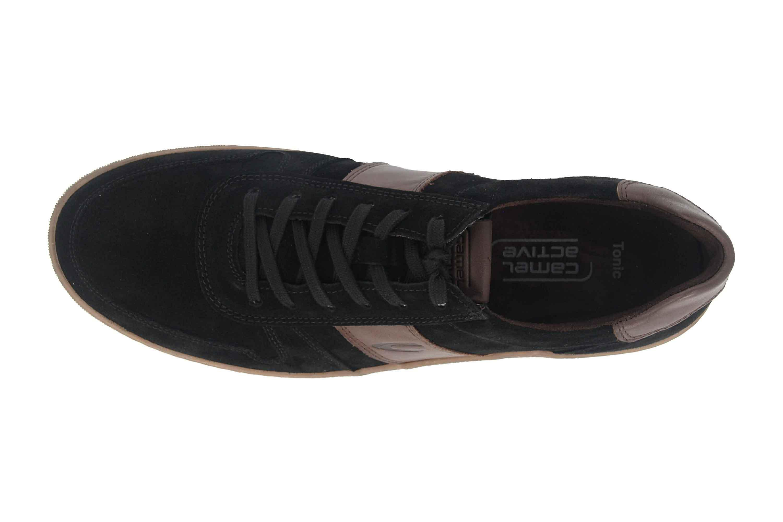 Camel Active Tonic Sneaker in Übergrößen Schwarz 537.12.05 große Herrenschuhe – Bild 7
