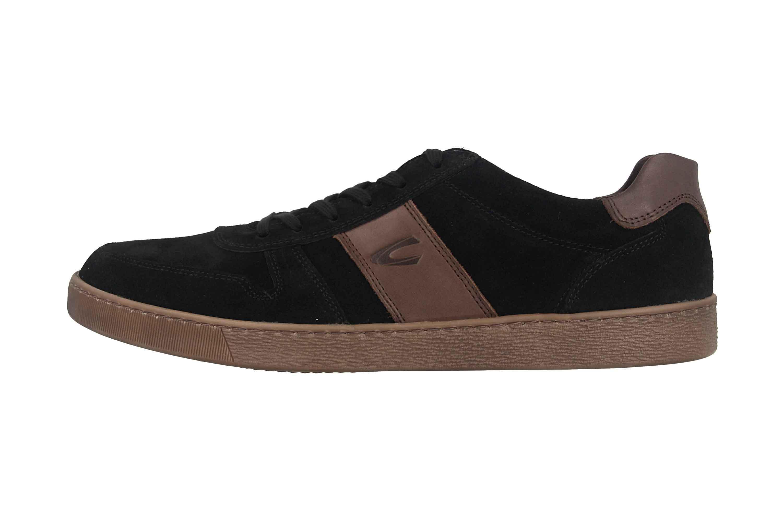 Camel Active Tonic Sneaker in Übergrößen Schwarz 537.12.05 große Herrenschuhe – Bild 1