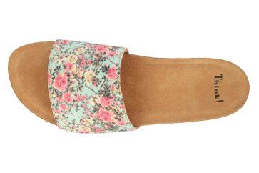 Think! Bluza Pantoletten in Übergrößen Mehrfarbig 2-82321-79 große Damenschuhe – Bild 7