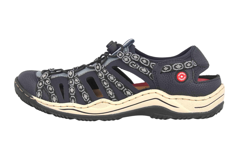 Rieker Sneaker in Übergrößen Blau L0577-18 große Damenschuhe – Bild 1