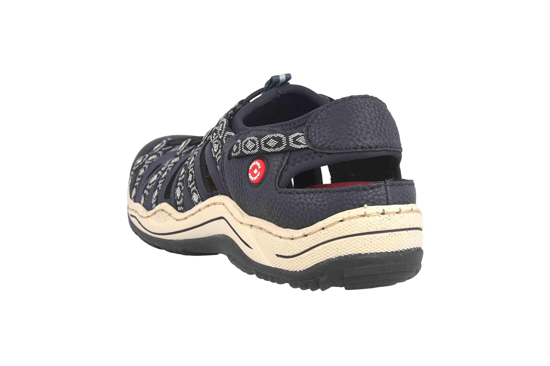 Rieker Sneaker in Übergrößen Blau L0577-18 große Damenschuhe – Bild 2