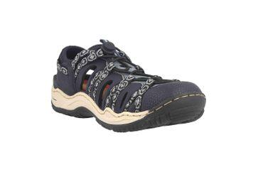 Rieker Sneaker in Übergrößen Blau L0577-18 große Damenschuhe – Bild 5