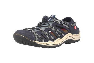 Rieker Sneaker in Übergrößen Blau L0577-18 große Damenschuhe – Bild 6