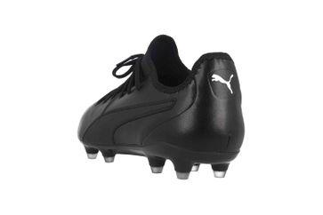 Puma King Pro FG Sportschuhe in Übergrößen Schwarz 105608 01 große Herrenschuhe – Bild 2
