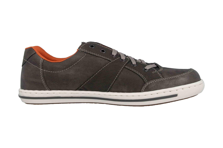 Rieker Sneaker in Übergrößen Grau 19013-43 große Herrenschuhe – Bild 4